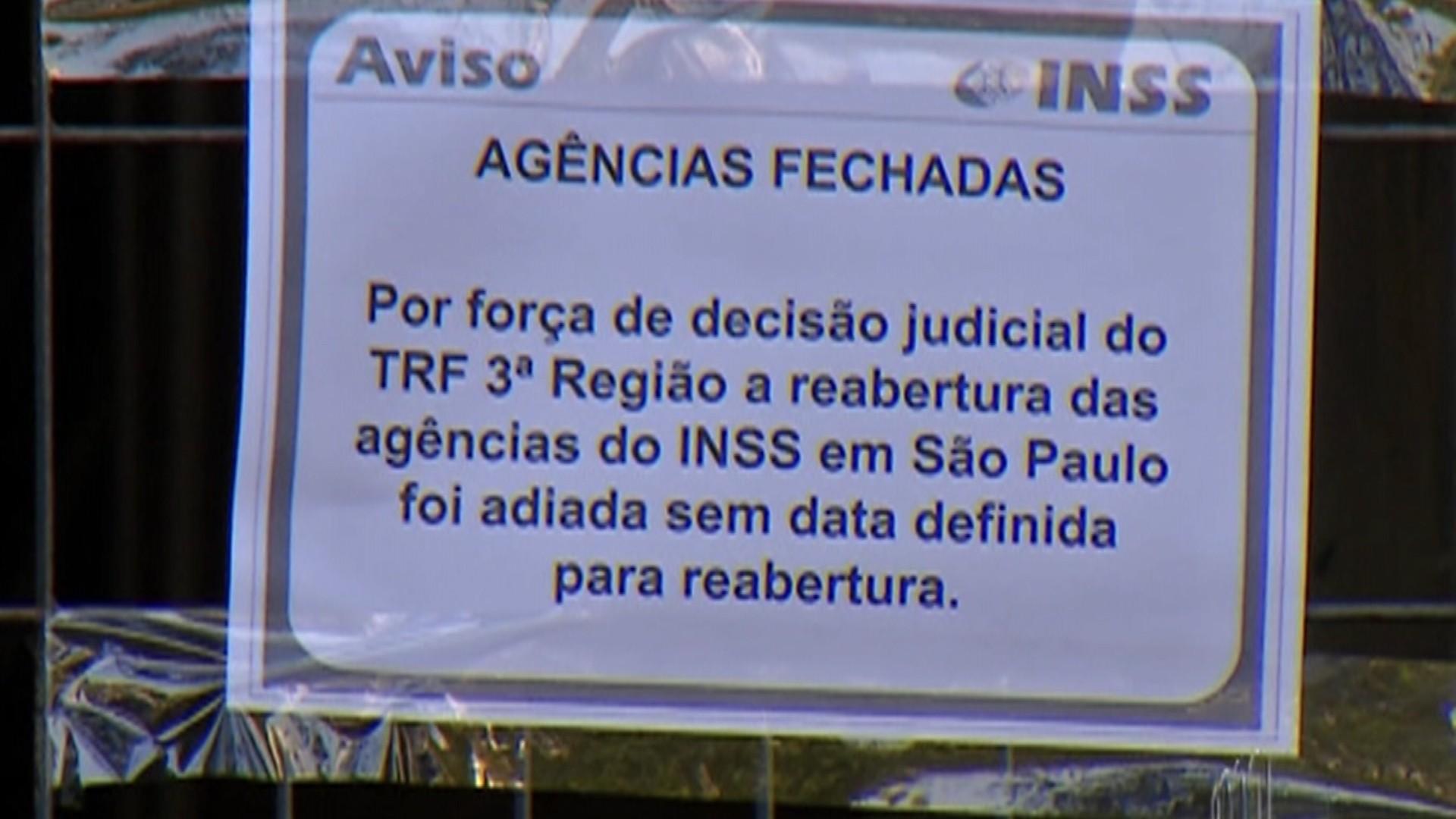Reabertura de agência do INSS é adiada e gera revolta entre beneficiários do Alto Tietê: 'Isso é uma tortura'