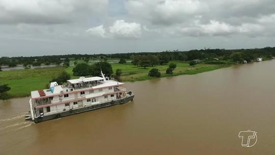 'Nova esperança': viagem inaugural do Navio Abaré em 2018 leva atendimentos a comunidades do Tapará