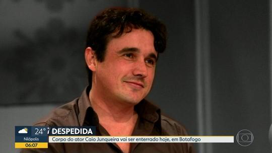 Corpo do ator Caio Junqueira será enterrado nesta quinta (24)