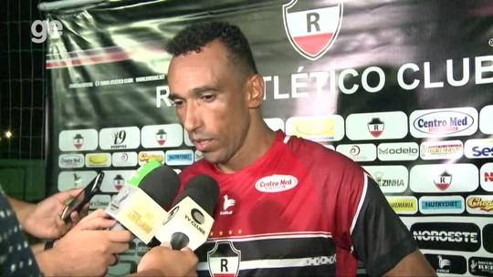 """Eduardo minimiza série sem vitórias do River-PI: """"Pressão que não devemos pegar para a gente"""""""