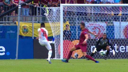 Veja os melhores momentos do empate entre Venezuela e Peru