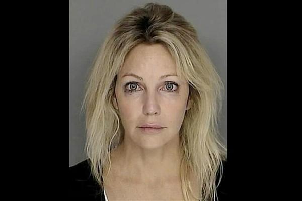 A atriz Heather Locklear em setembro de 2008. Acusação: dirigir sob efeito de álcool e/ou outras drogas. (Foto: Divulgação)