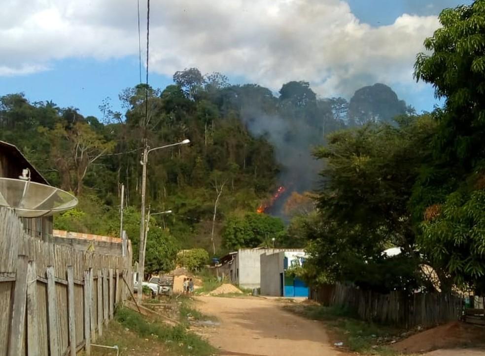 Avião explode e pega fogo no Pará (Foto: Reprodução / Polícia Civil)