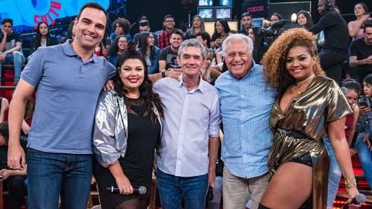 Antonio Fagundes, Fabiana Karla, Gaby Amarantos e Tadeu Schmidt relembram momentos marcantes com os pais