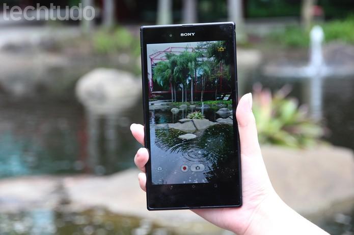 Sony Xperia Z Ultra (Foto: Luciana Maline/TechTudo)