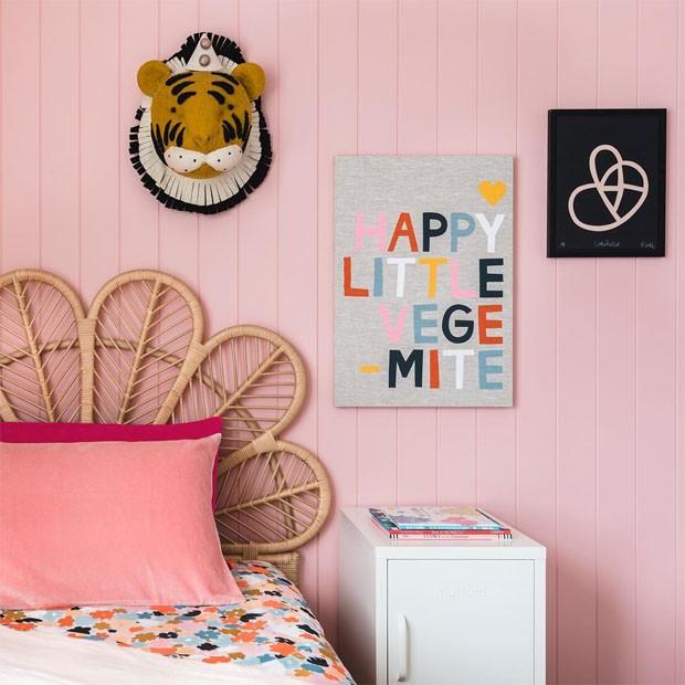 Décor do dia: quarto de criança em tons de rosa (Foto: Atelier Photography)