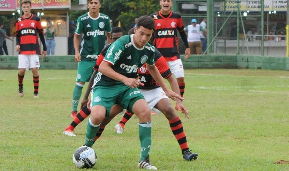Fabinho foi destaque do Palmeiras na Copa Brasil de Futebol Infantil, em janeiro deste ano (Foto: Arquivo Pessoal)