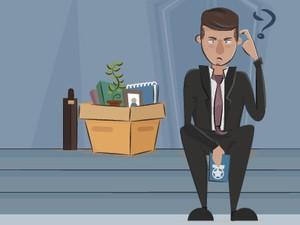 Selo desempregado (Foto: Editoria de Arte/G1)