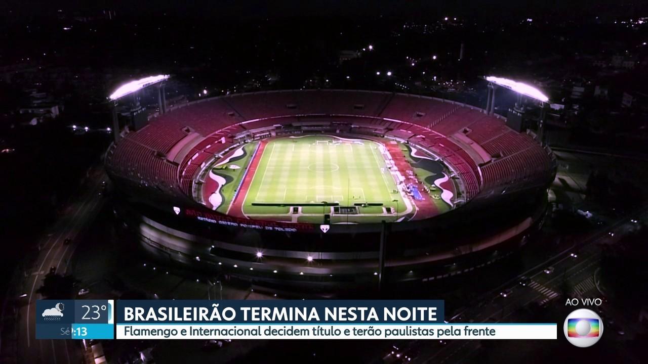 Brasileirão-2020 chega ao fim nesta noite