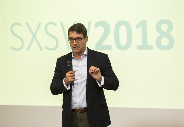 Carlos Villanova, gerente de marketing e comunicação da Apex-Brasil (Foto: Leo Orestes)