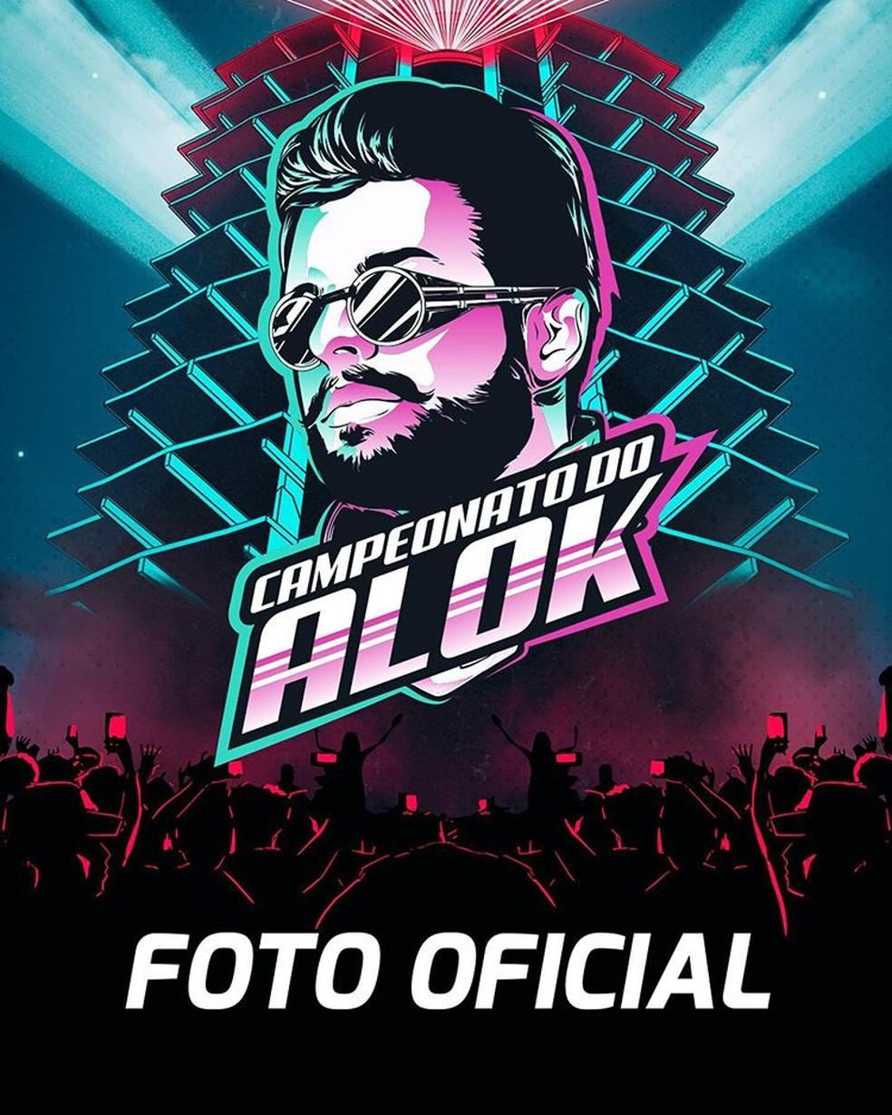 Campeonato do Alok distribuirá mais de 70 mil reais em premiação total — Foto: Reprodução/Instagram