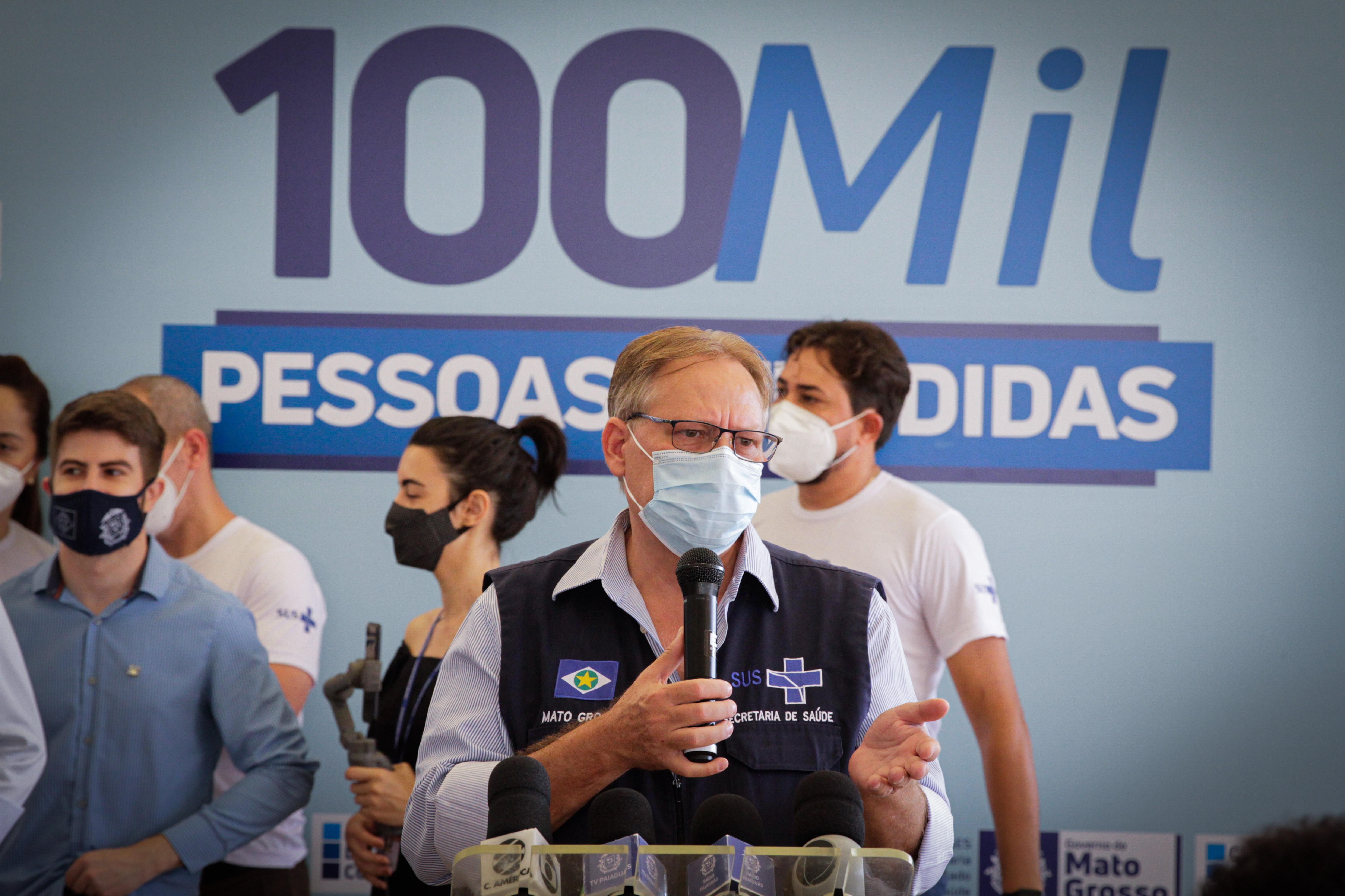 Centro de Triagem de MT deve disponibilizar teste por secreção do nariz para detecção do coronavírus