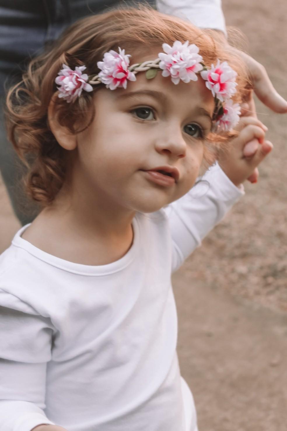 Melissa tem dois anos — Foto: Arquivo Pessoal/Divulgação