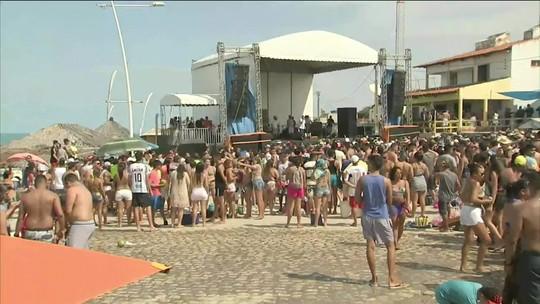 Maiores festas no Ceará acontecem nas praias