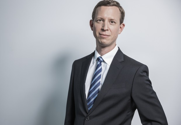 Thomas Ogilvie, responsável pela área de recursos humanos e membro do Conselho de Administração do grupo Deutsche Post DHL (Foto: Divulgação)