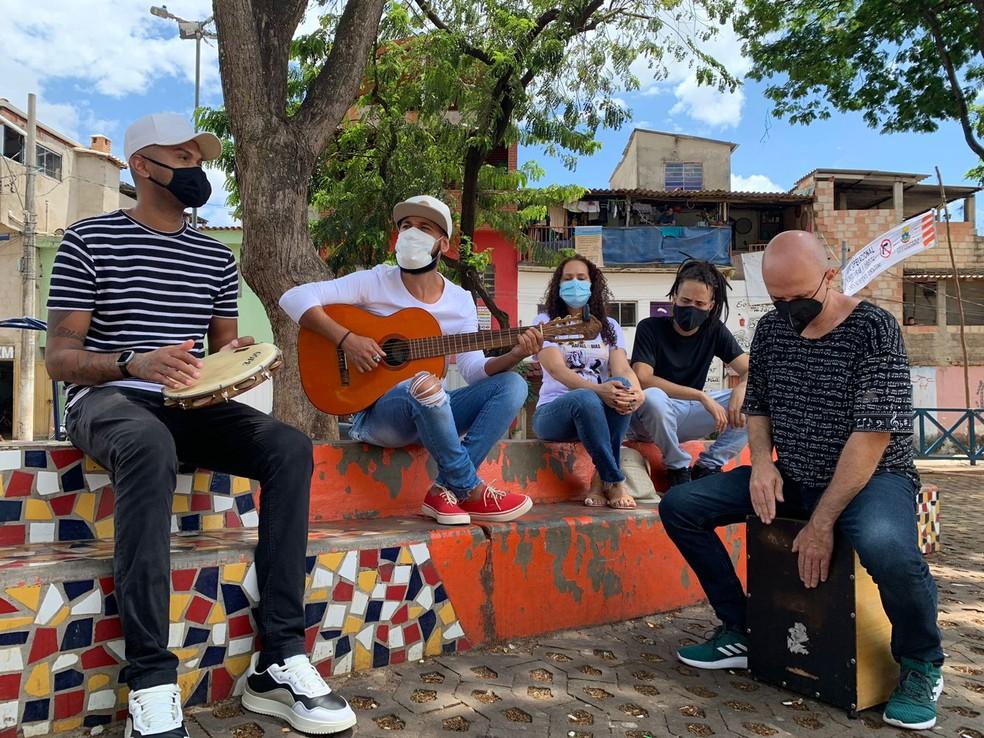 Rafael Dias recebeu homenagem em forma de música — Foto: Raquel Freitas/ g1 Minas