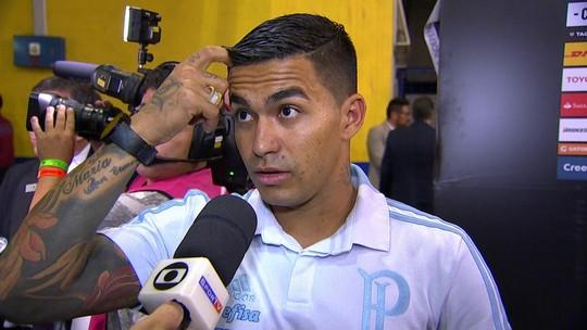 """Dudu se desculpa por não comemorar gol e minimiza atrito com torcedores: """"Sei o carinho que eles têm por mim"""""""