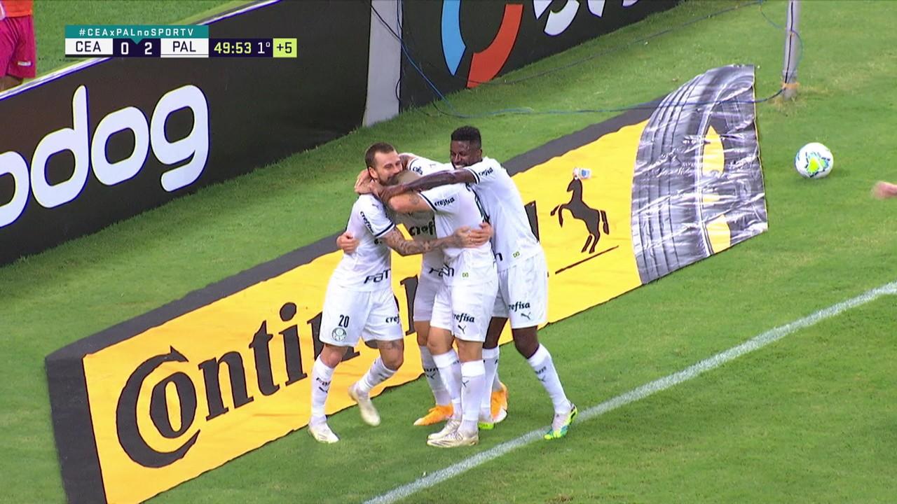 Gol 13: Ceará x Palmeiras