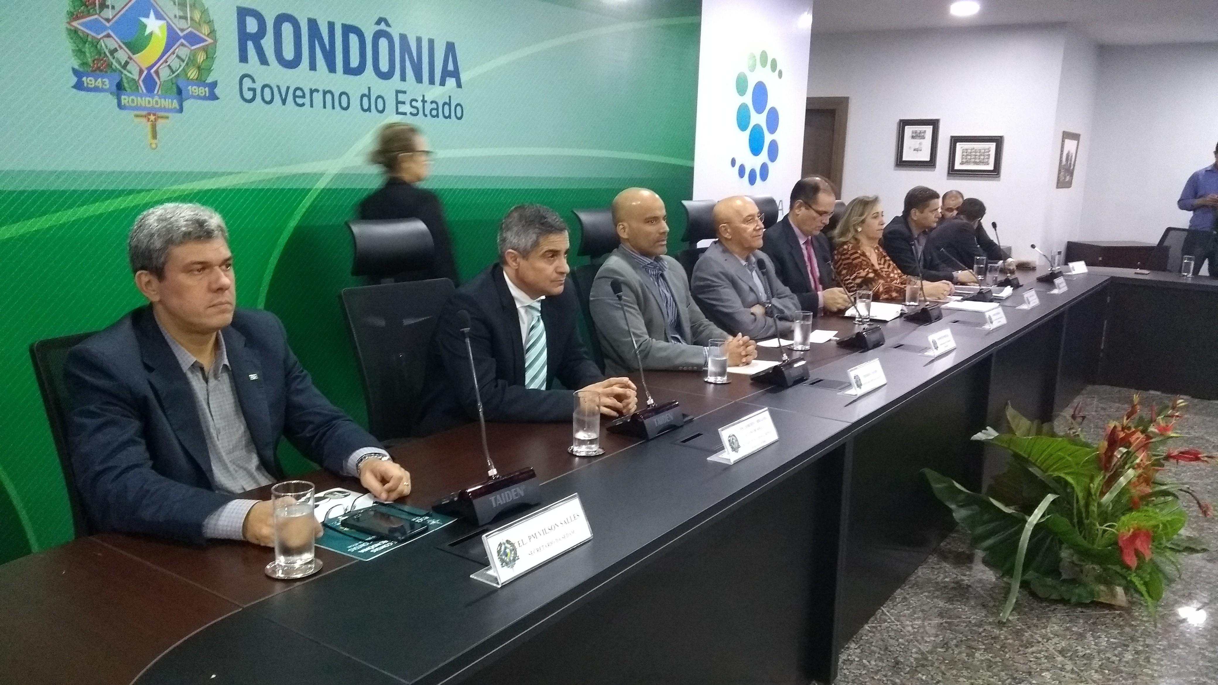 Governo lança programa que integra secretarias pela segurança pública em Rondônia