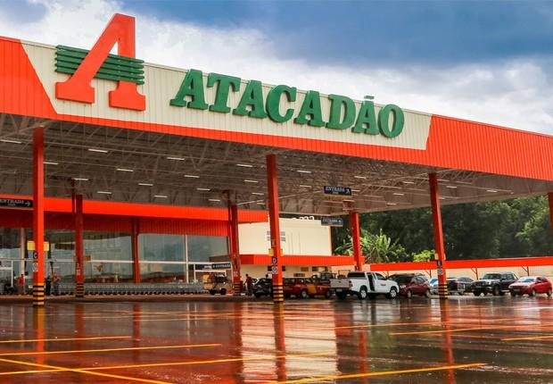 Unidade do atacarejo Atacadão , que pertence à rede Carrefour (Foto: Reprodução/Facebook)