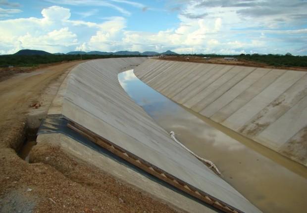 Transposição do Rio São Francisco (Foto: Agência Câmara)