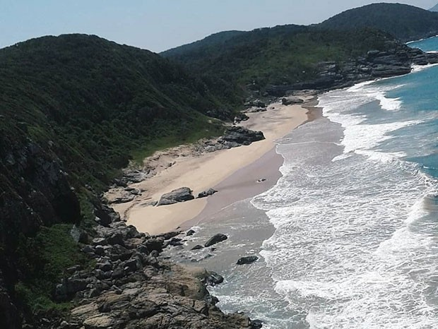 Praia Brava, em Cabo Frio, no Rio de Janeiro (Foto: Reprodução/Instagram)