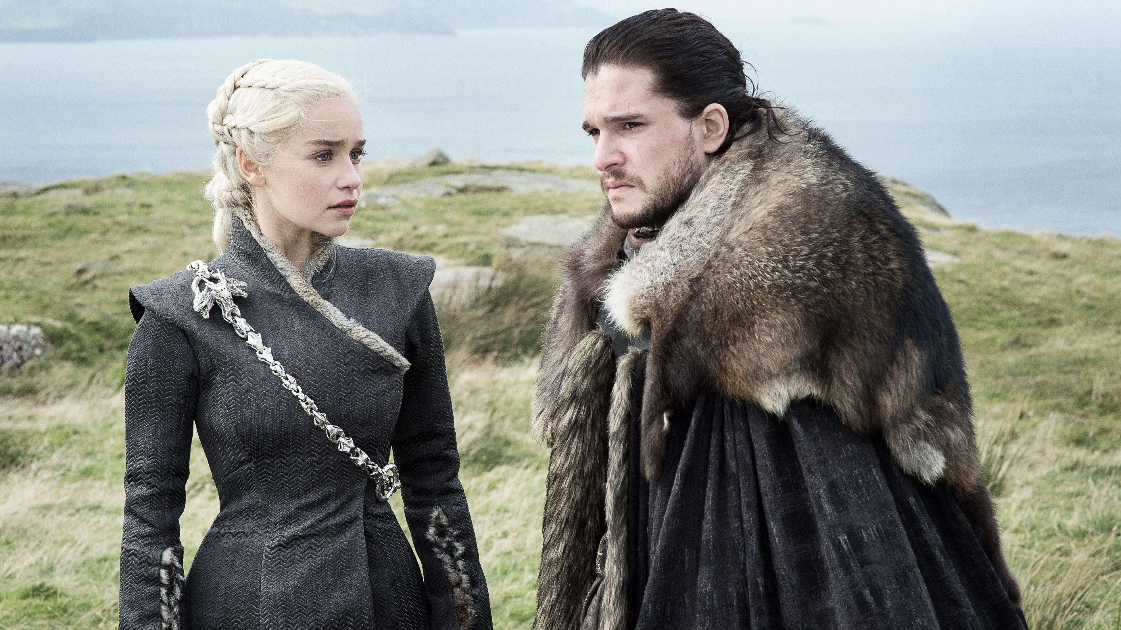 Jon e Daenerys (Foto: divulgação)