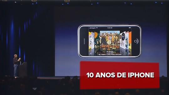 10 anos do iPhone: relembre os lançamentos do aparelho que revolucionou a telefonia