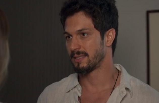 Na sexta-feira (15), Marcos levará Paloma para conhecer o seu novo apartamento (Foto: TV Globo)
