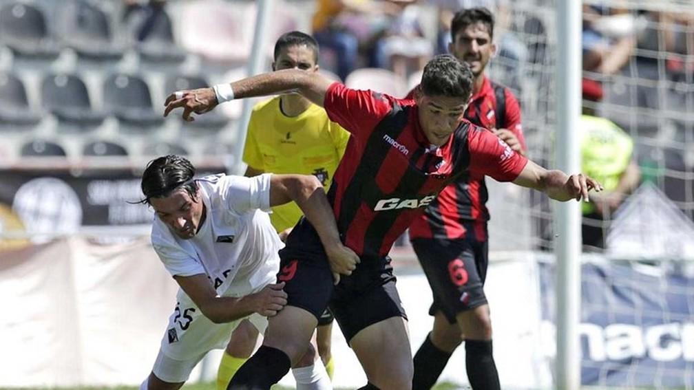 Vieira, atacante do Olhanense — Foto: Arquivo pessoal
