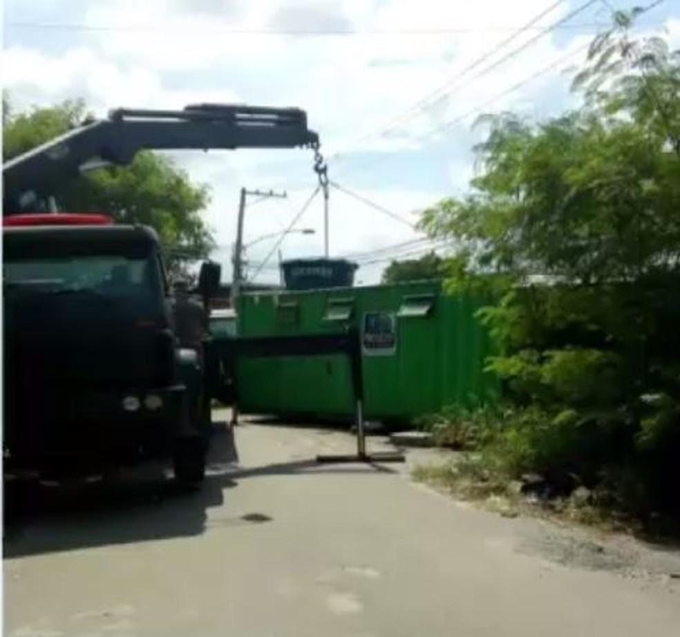 Exército retira quatro bases da UPP da Vila Kennedy (Foto: Reprodução/TVGlobo)