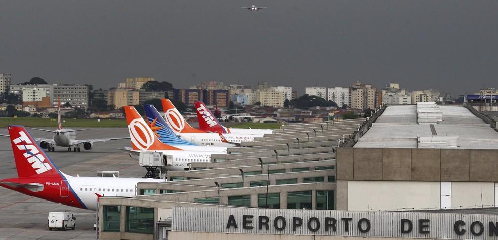 Segundo SNA, sindicato das aéreas estaria brigando pela flexibilização de diversos itens da convenção — Foto: Michel Filho/Agência O Globo