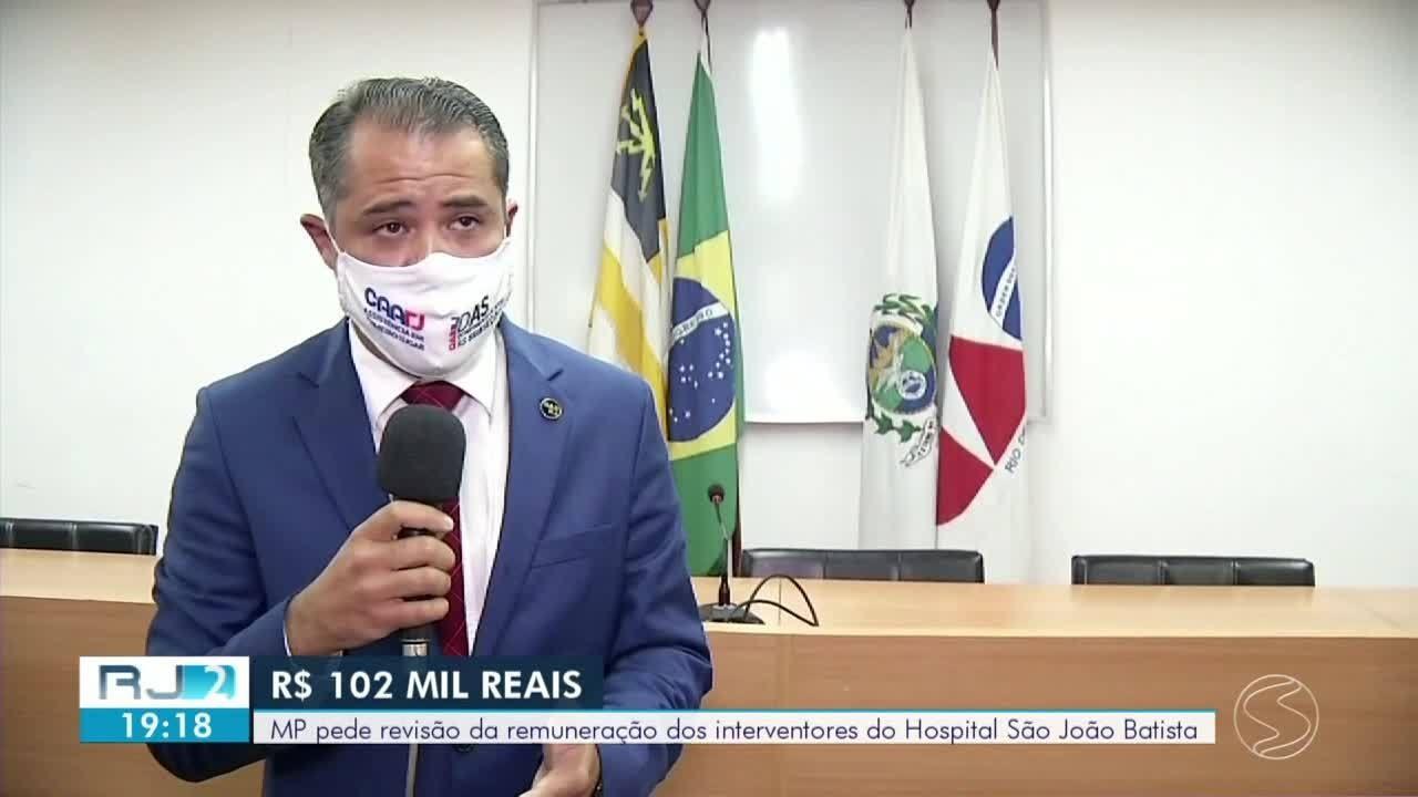 MP contesta honorários de mais de R$ 100 mil de interventores de hospital em Volta Redonda