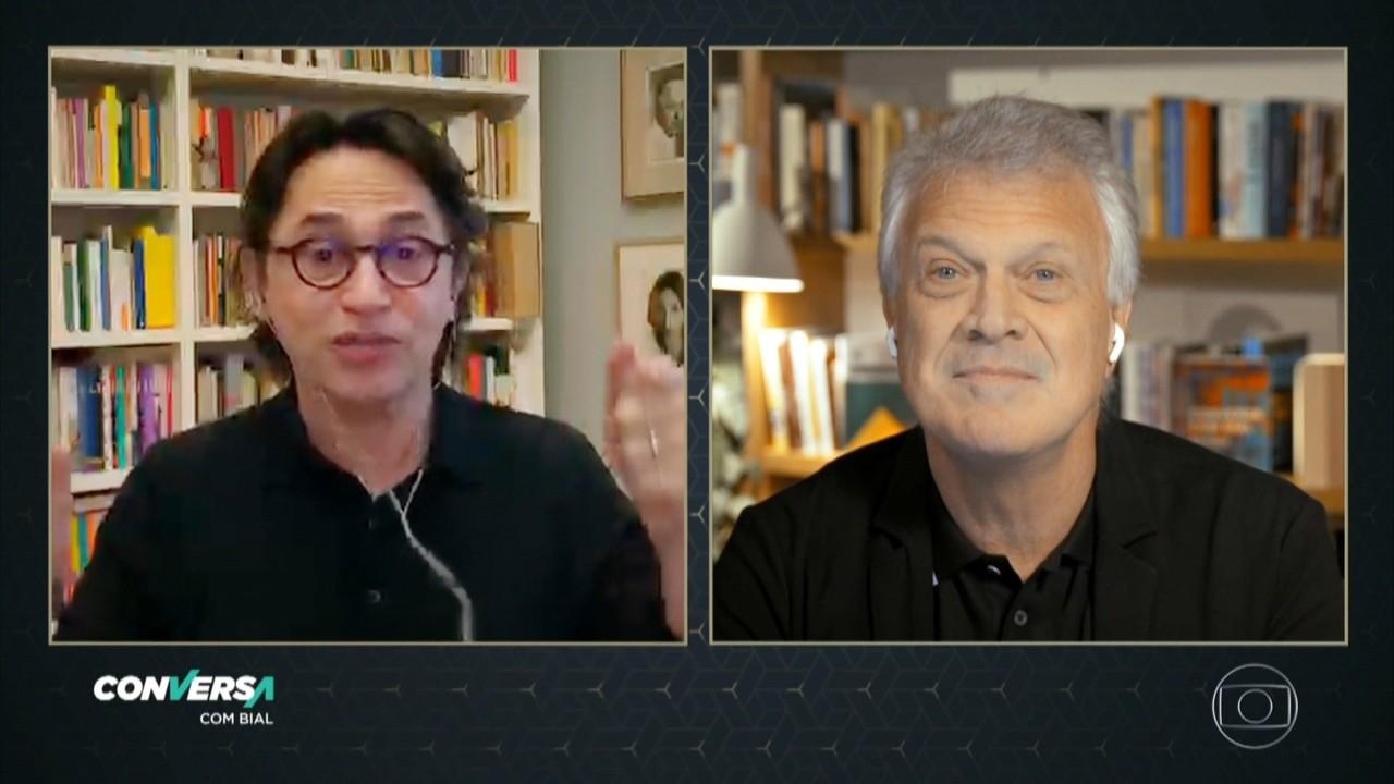 Eucanaã Ferraz é professor de literatura e um dos curadores da obra de Vinícius de Moraes