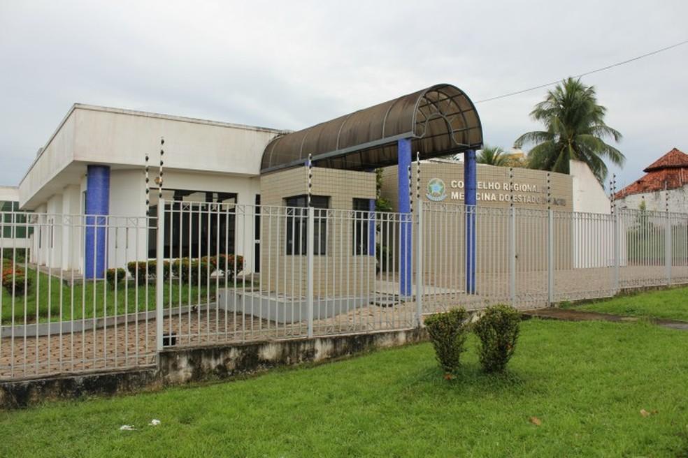 Conselho Regional de Medicina tem 74 sindicâncias contra médicos no Acre — Foto: Divulgação/Conselho Regional de Medicina (CRM)