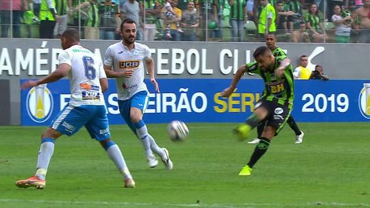 América-MG 1 x 2 São Bento: assista aos gols e melhores momentos