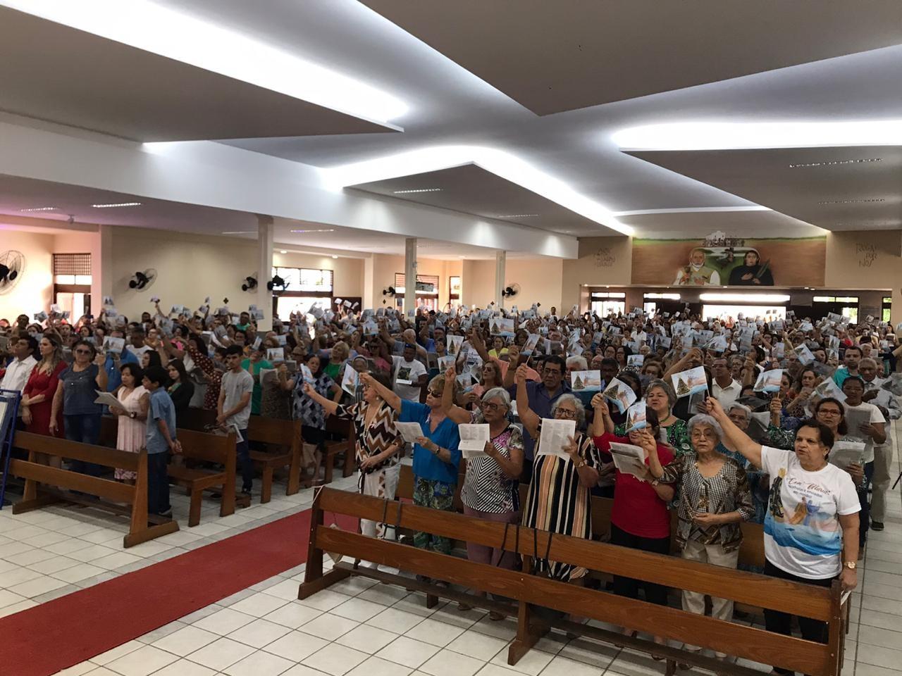 Fiéis celebram Padroeira do Brasil em Natal; veja programação - Notícias - Plantão Diário