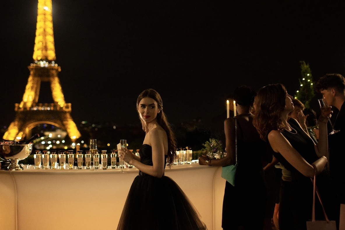 Emily em Paris (Foto: Divulgação)