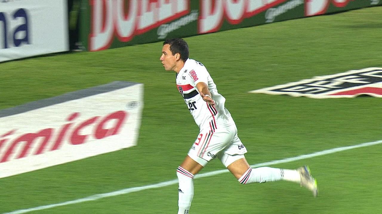 São Paulo 2 x 0 Água Santa: o primeiro gol do ano foi feito por Pablo