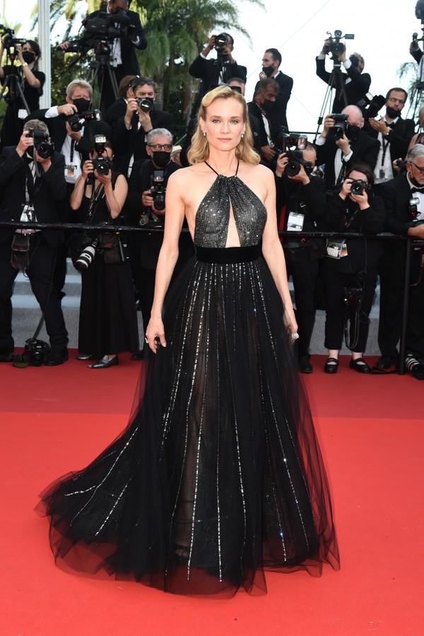 Diane Kruger no Festival de Cannes 2021 (Foto: Getty Images)