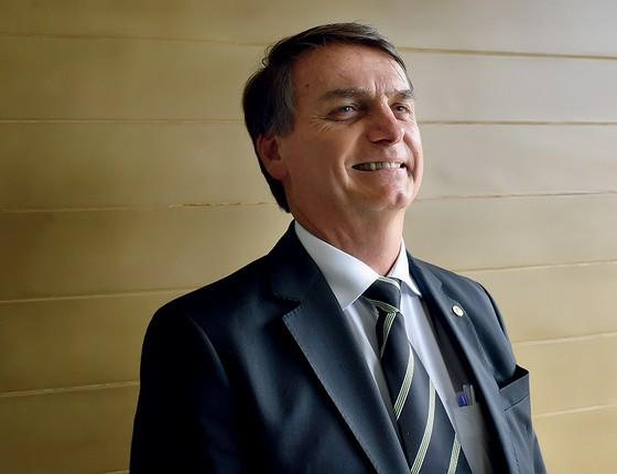 Jair Bolsonaro (Foto: Bonomi/Agif/Afp)