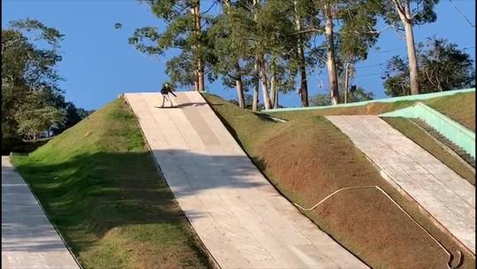 Nova geração do snowboard brasileiro treina em São Roque de olho nos Jogos de 2022 e 2026