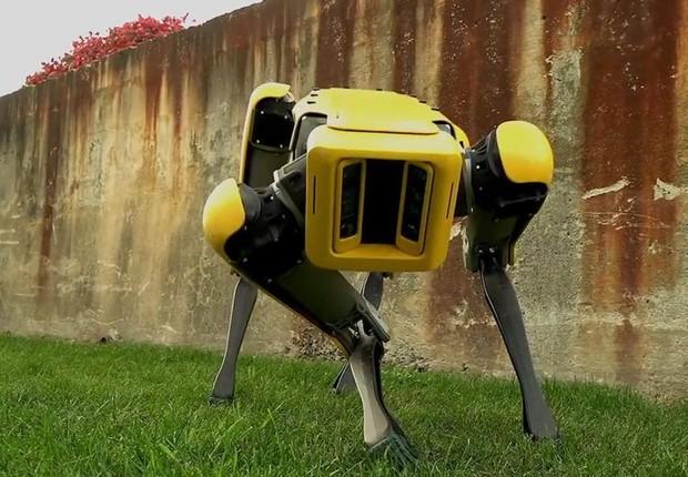 SpotMini, cão-robô da Boston Dynamics (Foto: Reprodução/Facebook)