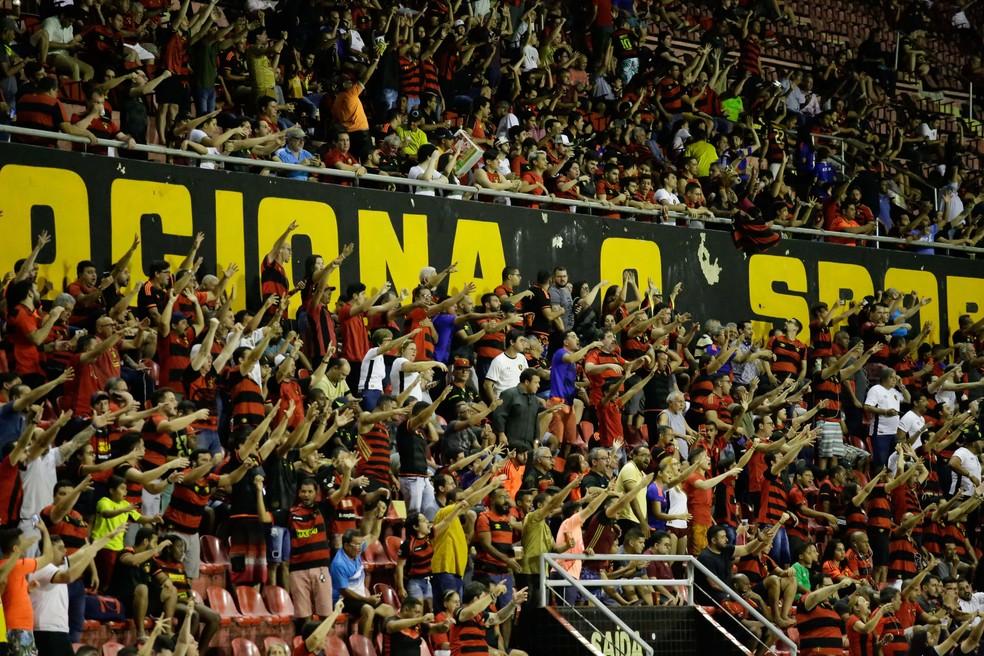 Torcida do Sport ganha mais um mês de promoção na anuidade de sócios — Foto: Anderson Stevens / Sport Club do Recife