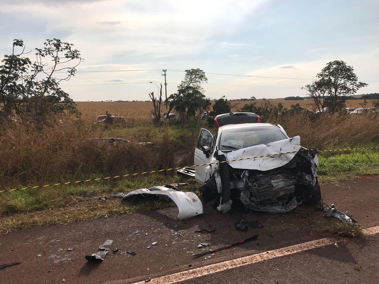 Casal capixaba que morreu na BR-060 passava férias no Mato Grosso do Sul
