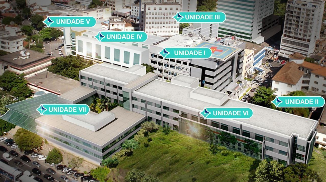 Hospital de Niterói destina dois prédios para atender apenas pacientes com Covid-19
