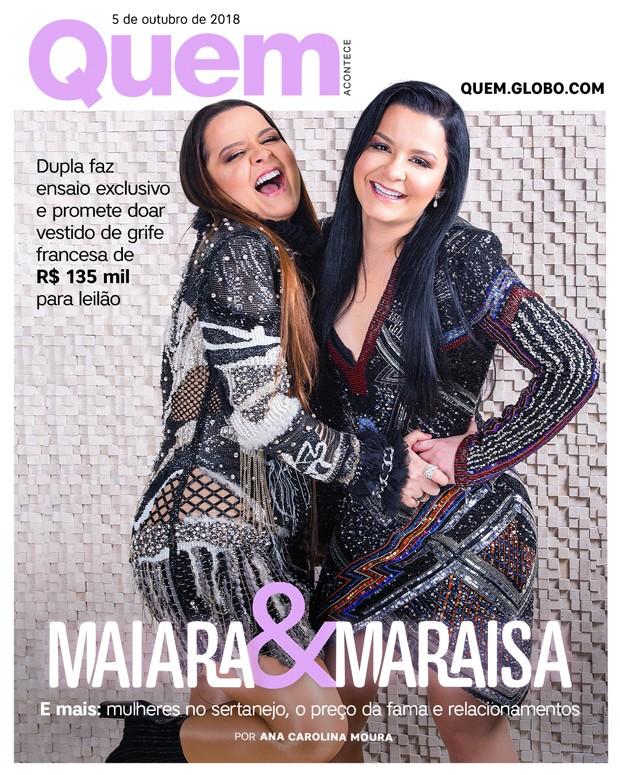 Maiara e Maraisa Capa (Foto: Ricardo Cardoso/ Ed. Globo)