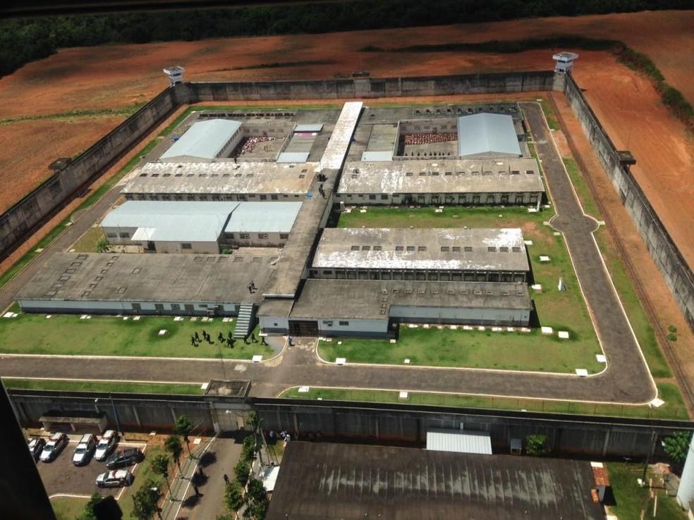 Penitenciária Central do Estado (PCE), em Cuiabá — Foto: Governo de MT/Divulgação