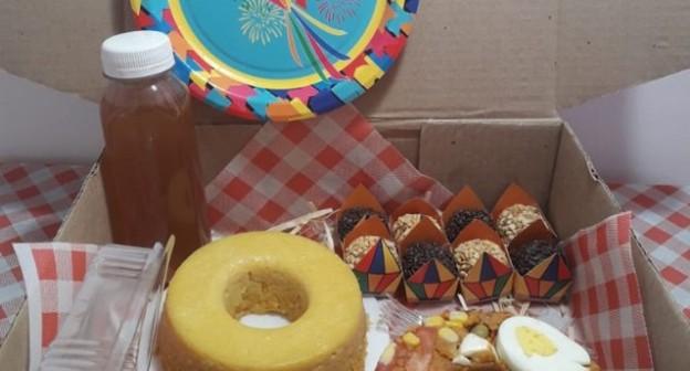 Festa na caixa ganha versão junina e ajuda empreendedoras a faturar