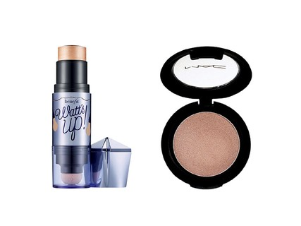 Watt's Up, Benefit, R$ 149 e Cream Colour Base, M.A.C, R$ 93